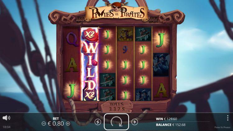 Pixies vs Pirates slot nolimit city big win