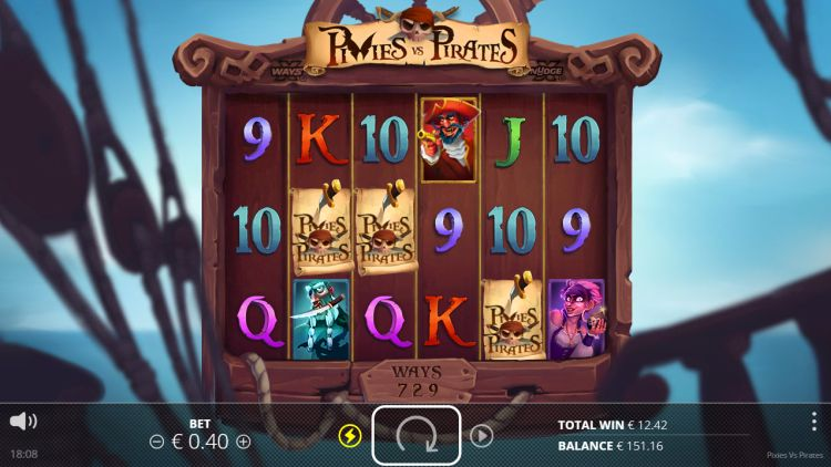 Pixies vs Pirates slot review bonus trigger