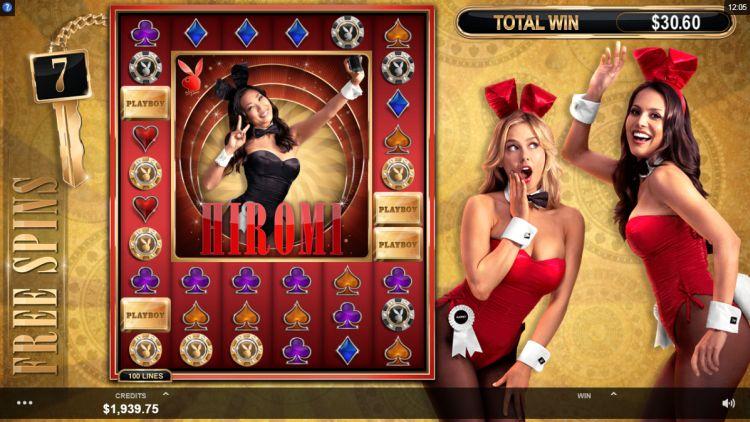 Playboy Gold slot review bonus