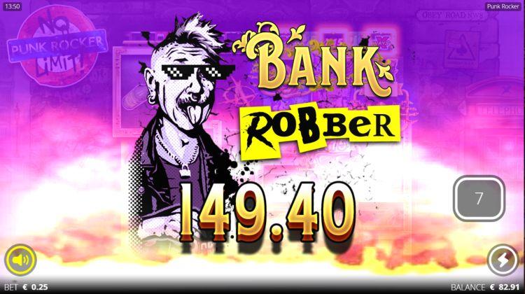 Punk Rocker slot review big win