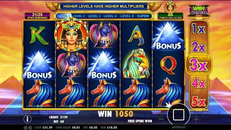 Queen-of-gold-gokkast-pragmatic-play-bonus-trigger