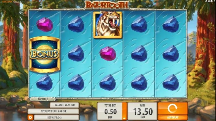 Razortooth screen