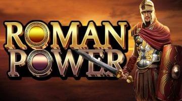 Roman Power slot review microgaming logo 2