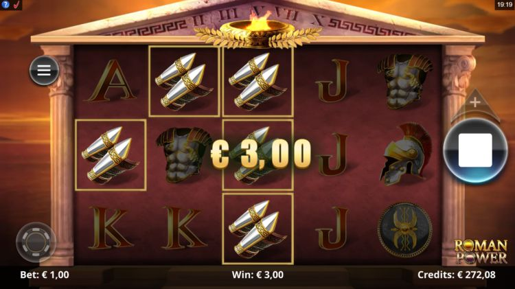Roman Power slot review microgaming
