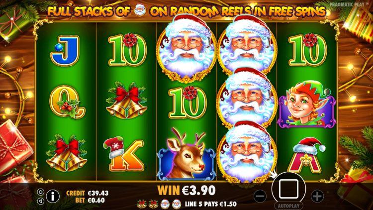 Santa-gokkast-free-spins-bonus