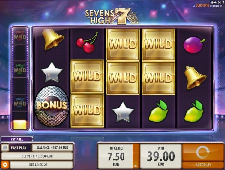 Sevens High Quickspin