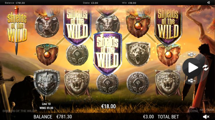 Shields of the wild slot review win