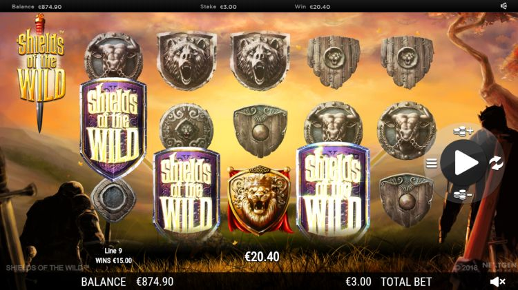 Shields of the wild slot review