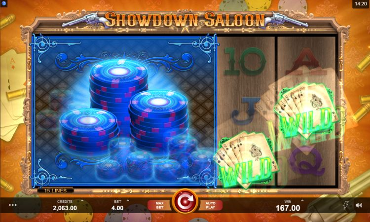 Showdown Saloon Microgaming review