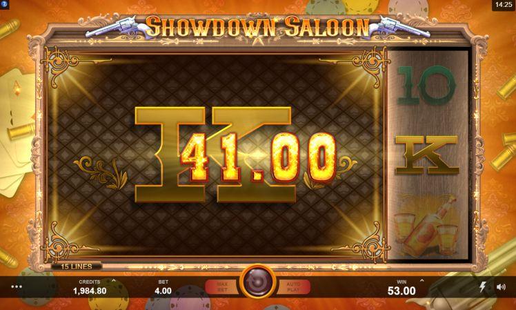 Showdown Saloon slot review