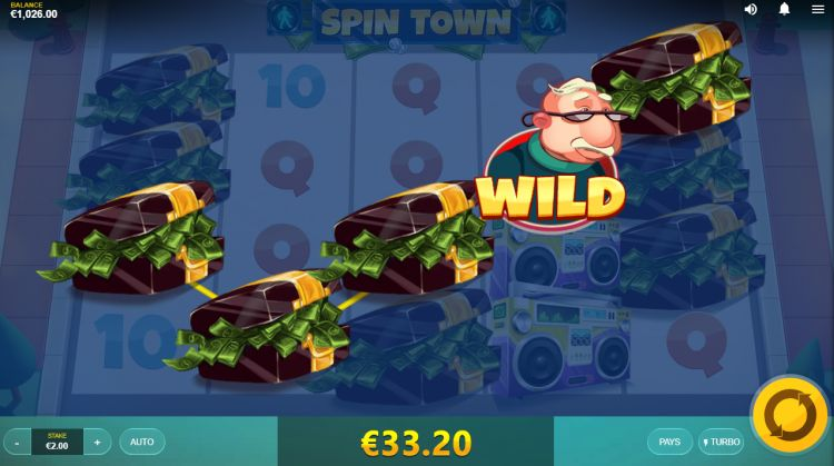 Spin Town Red Tiger slot review big win 2
