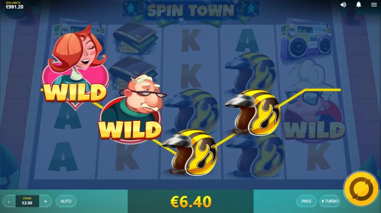 Spin Town Red Tiger slot review