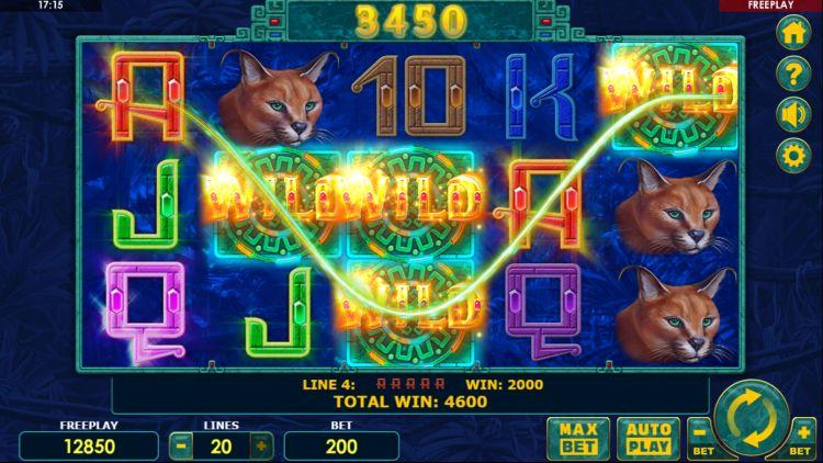 Super Cats slot review amatic win