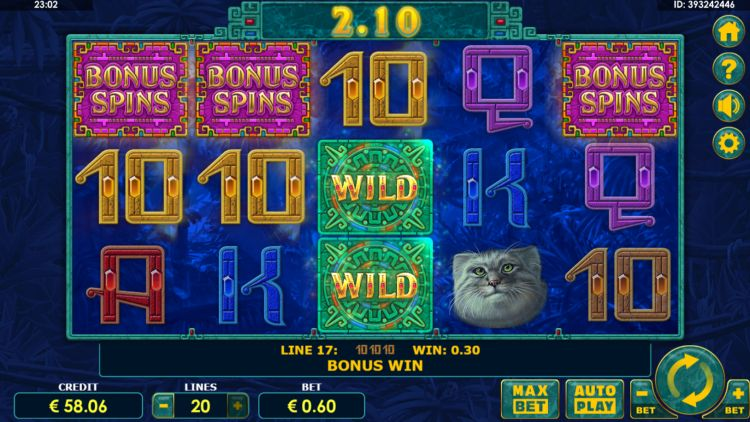 Super Cats slot review amatic free spins trigger