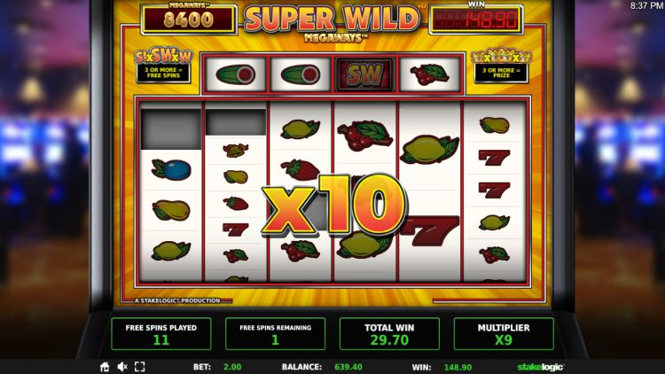 Super Wild Megaways slot review stakelogic free spins