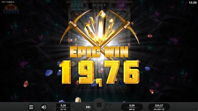 TNT Tumble Relax Gaming bonus win