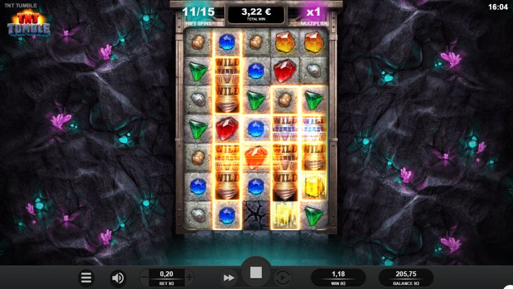 TNT Tumble Relax Gaming slot review wilds
