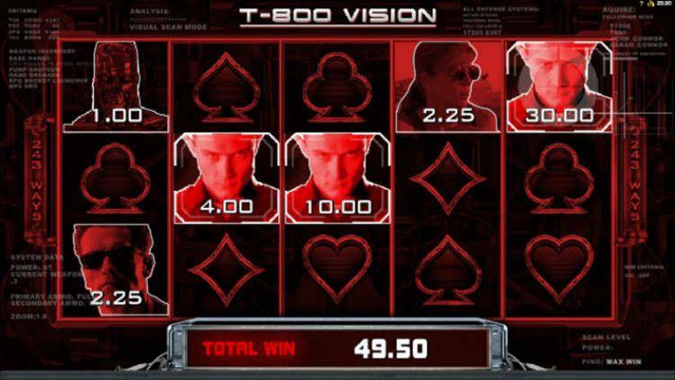 Terminator 2 T-800 bonus