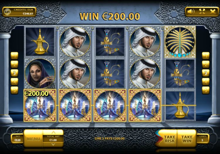 The Emirate slot review endorphina big win