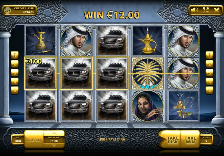 The Emirate slot review endorphina
