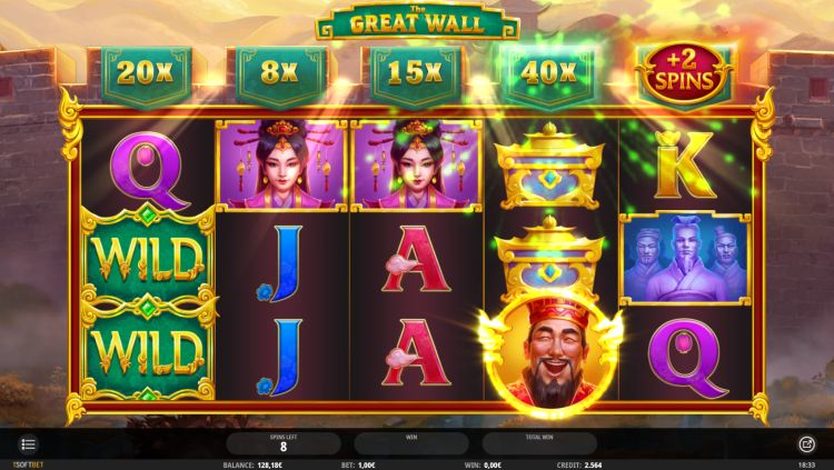 The Great Wall isoftbet review free spins