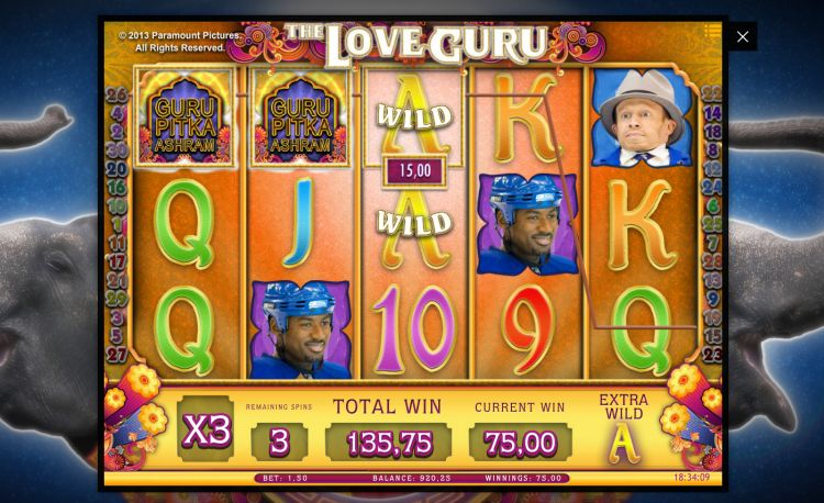 The Love Guru isoftbet free spins bonus