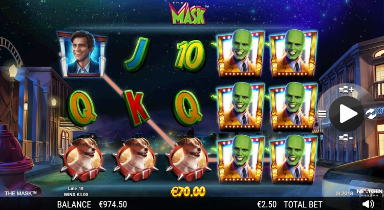 The Mask slot review big win 2