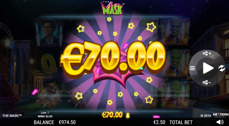 The Mask slot review big win
