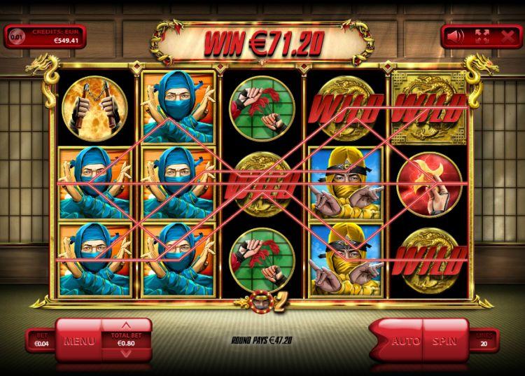 The Ninja slot endorphina big win