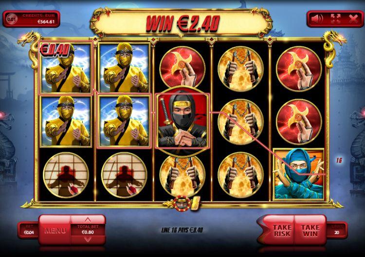The Ninja slot endorphina review