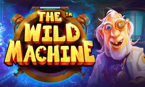 The wild machine pragmatic play slot logo