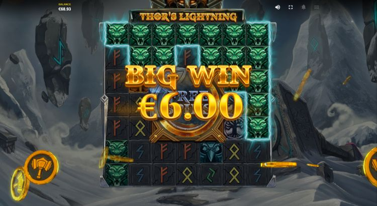 Thor's Lightning slot review red tiger