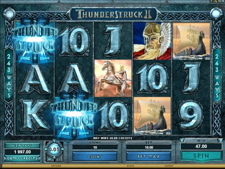 Thunderstruck-II- pokie review microgaming