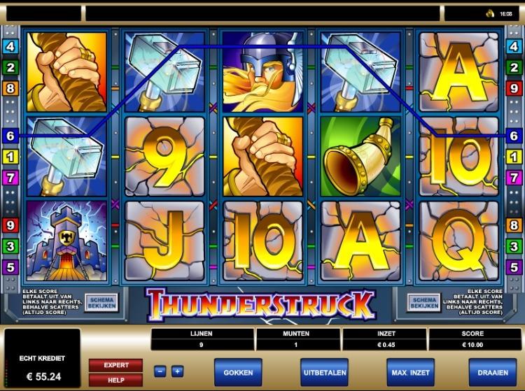 Thunderstruck Microgaming slot review