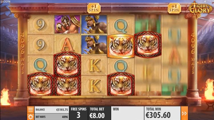Tigers glory slot review Quickspin bonus