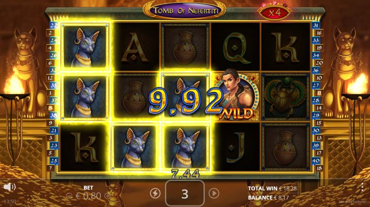 Tomb of Nefertiti slot nolimit city free spins
