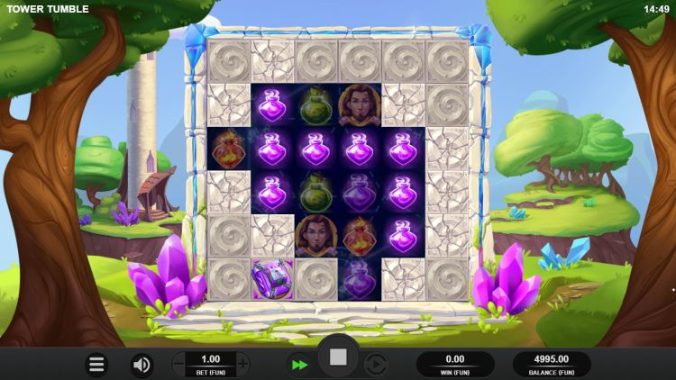 Tower Tumble slot review relax gaming