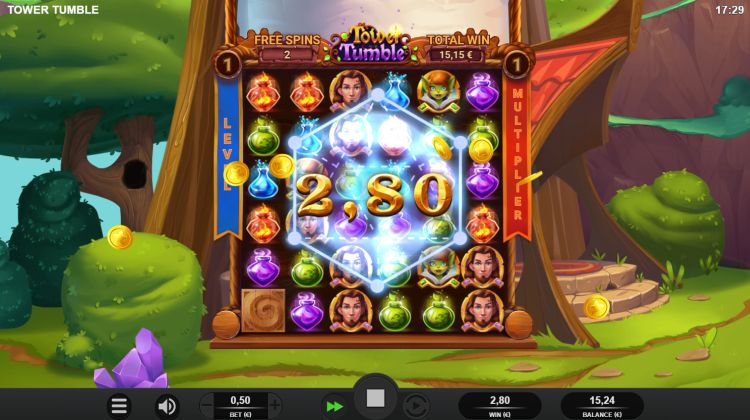 Tower Tumble slot review