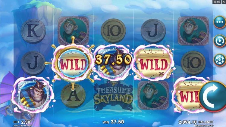 Treasure Skyland slot review feature win