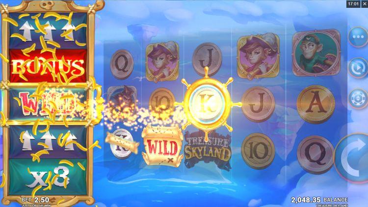Treasure Skyland slot review feature
