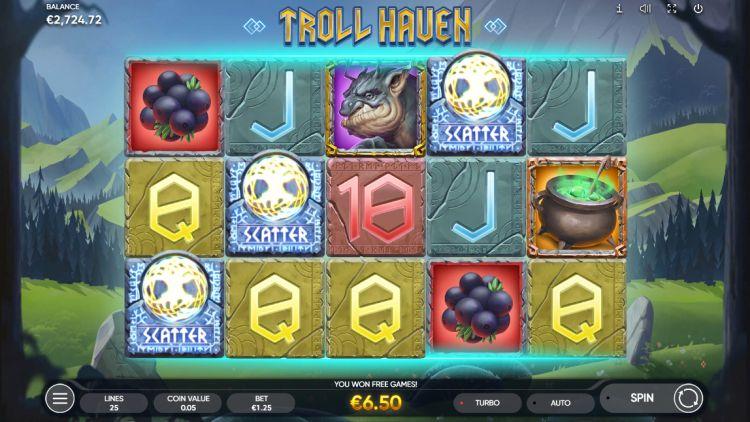 Troll Haven slot review Endorphina bonus trigger