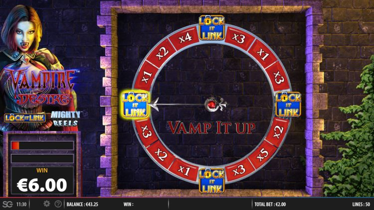 Vampire desire lock it link slot