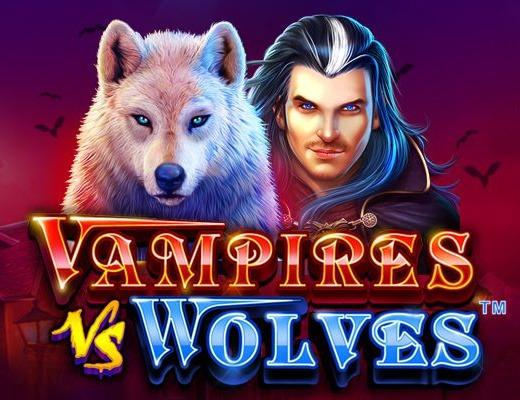 Vampires vs Wolves slot pragmatic play review logo