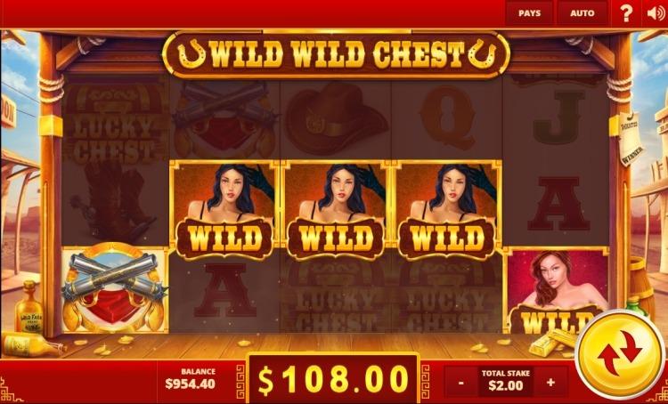 Wild Wild Chest slot review bonus....
