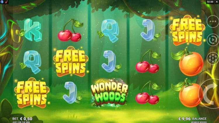 Wonder Woods slot review gratis spins trigger