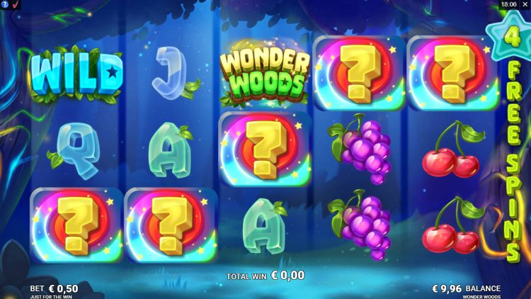 Wonder Woods slot review gratis spins