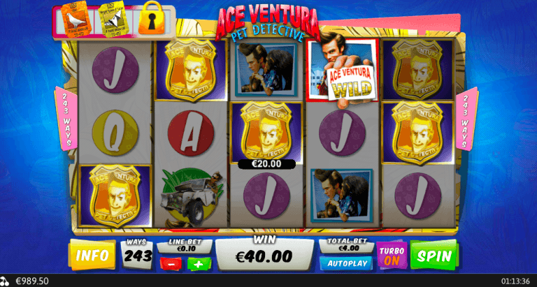 ace-venture-slot-review-playtech win