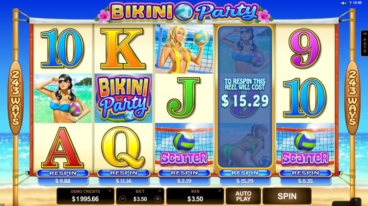 bikini-party slot review Microgaming