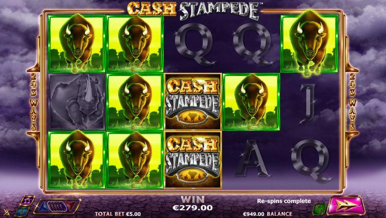 cash stampede slot nextgen mega win
