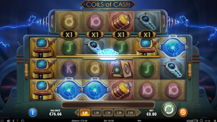 coils of cash slot review play n go bonus trigger